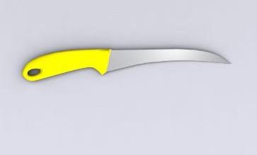 Cuchillos cuchillo de fruta 3d model download free 3d models download - Cuchillos para decorar fruta ...