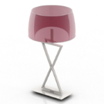 purple exquisite table lamp model