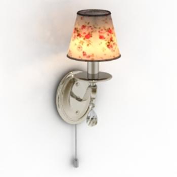 floral wall lamp model 3D Model Download,Free 3D Models Download