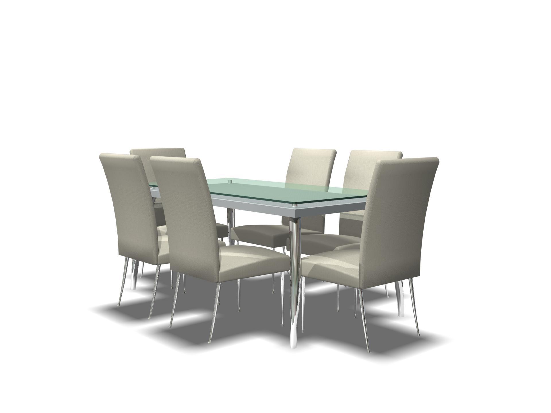 Mobiliario de mesa 009 - 3D Model Download,Free 3D Models Download
